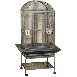 "EZ Care Dometop Cage for Medium Birds, 33"" x 29"" x 59"""