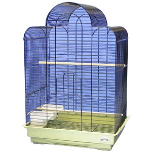 "EZ Start Parakeet/Cockatiel Cage Large, 18.5"" x 14"" x 27"""