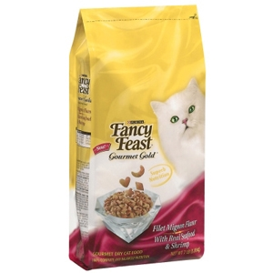 Fancy Feast Gourmet Gold Cat Food Filet Mignon, 12 lb - 4 Pack