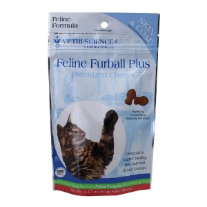 Feline Furball Plus Bite-Size Chews, 60 Soft Chews