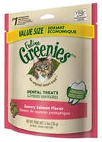 Feline Greenies Value Size Savory Salmon Flavor, 5.5 oz