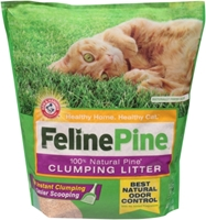 Feline Pine Clumping Cat Litter, 8 lbs - 3 Pack
