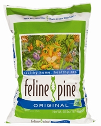 Feline Pine Original Cat Litter, 40 lbs