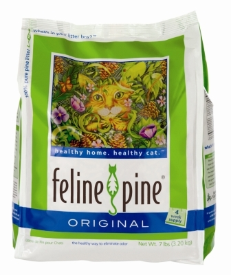 Feline Pine Original Cat Litter, 7 lbs - 6 Pack