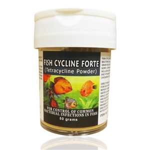 Fish Cycline Forte (Tetracycline) Powder 380 mg, 50 gm