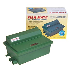 Fish Mate Gravity UV Pond Filter, 500 gal