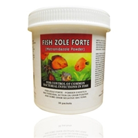 Fish Zole Forte (Metronidazole) Powder 500 mg, 30 Packets