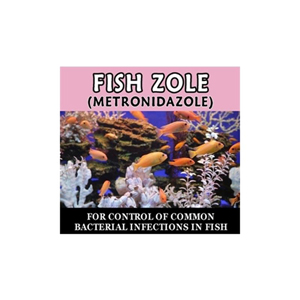 Fish zole metronidazole 250 mg 60 tablets for Metronidazole for fish