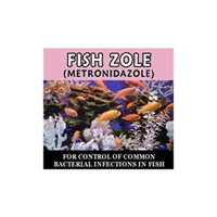 Fish zole metronidazole antibiotics for fish for Fish zole 500 mg