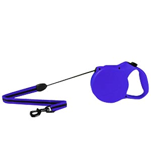 Flexi Classic Long Blue Tape Leash, Large 26 ft