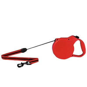 Flexi Classic Long Red Tape Leash, Large 26 ft