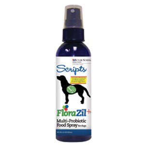 FloraZil+ Multi-Probiotic Food Spray for Dogs, 6 oz | VetDepot.com