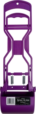 Four Paws Allen's Spring Action Scooper for Small Dogs, Purple