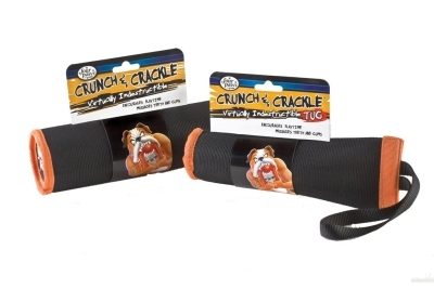 Four Paws Crunch & Crackle Dog Toy, Large