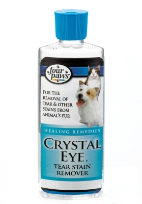 Four Paws Crystal Eye Tear Stain Remover for Dogs & Cats, 4 oz