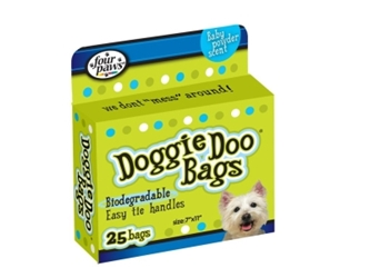 Four Paws Doggie Doo Bags, 25 ct