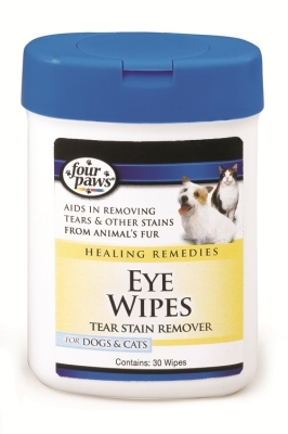 Four Paws Eye Wipes for Dogs & Cats, 25 ct