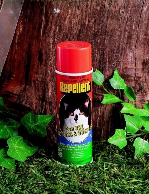 Four Paws Indoor & Outdoor Repellent for Cats & Kittens, 6 oz