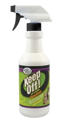Four Paws Keep Off! Indoor & Outdoor Repellent for Cats & Kittens, 16 oz