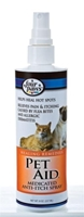 Four Paws Pet Aid Medicated Anti-Itch Spray for Dogs & Cats, 8 oz