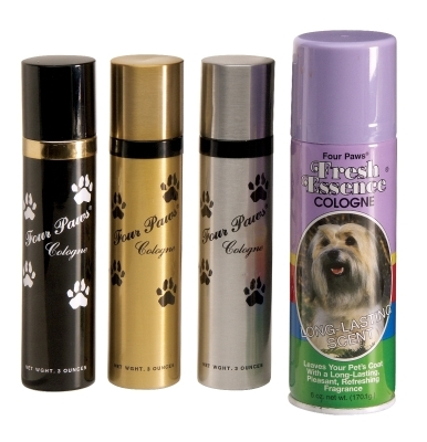 Four Paws Pet Cologne, Silver, 3 oz