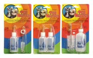 Four Paws Pet Nurser All-Purpose Bottles, 2 oz, 2 Pack