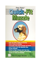 Four Paws Quick-Fit Muzzle, Size 2