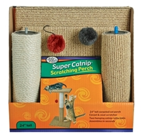 Four Paws Super Catnip Scratching Perch, 24 in