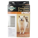 Freedom Aluminum Pet Door, Medium