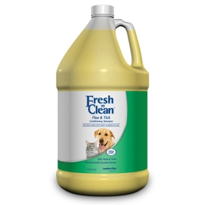 Fresh N' Clean Flea & Tick Conditioning Shampoo, 1 gal
