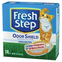 Fresh Step Odor Shield Unscented Cat Litter, 14lb - 3 Pack
