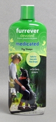 Furrever Devoted Medicated Dog Shampoo, 20 oz