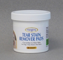 Gold Medal Pets Tear Stain Remover Pads for Dogs, 90 ct