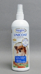 Gold Medal Pets Unicoat Grooming Spray for Dogs & Cats 8 oz
