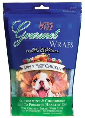 Gourmet Wraps- Apple Wrapped with Chicken, 6 ounces