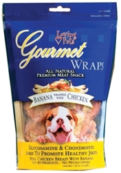 Gourmet Wraps- Banana Wrapped with Chicken, 6 ounces