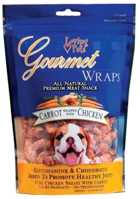Gourmet Wraps- Carrot Wrapped with Chicken, 8 ounces