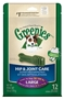 Greenies Hip & Joint Care Treat Pack for Large Dogs, 18 oz, 12 ct