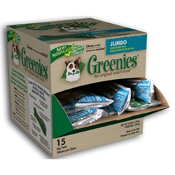 Greenies Jumbo (15 Treats)
