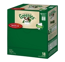 Greenies Mini Me Merchandiser Treat Pack for Regular Dogs, 18 oz, 18 ct