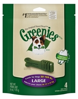 Greenies Mini Treat Pack for Large Dogs, 6 oz, 4 ct