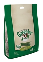 Greenies Treat Pack for Teenie Dogs, 12 oz, 43 ct