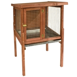 "HD Small Rabbit Hutch, 30"" x 25.5"" x 47"""