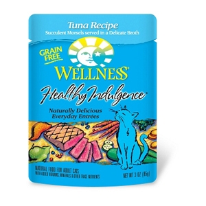 Healthy Indulgence Cat Food Salmon & Tuna Recipe, 3 oz - 24 Pack