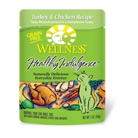 Healthy Indulgence Cat Food Turkey & Chicken Recipe, 3 oz - 24 Pack