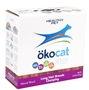 Healthy Pet Okocat Natural Wood Clumping Cat Litter for Long Hair Breeds, 9.4 lbs
