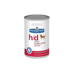 Hills Prescription Diet h/d Canine Cardiac Health Canned Food, 12 x 13 oz
