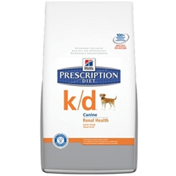 Hills Prescription Diet k/d Canine Renal Health Dry Food, 35 lbs