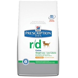 Hills Prescription Diet r/d Canine Weight Loss Dry Food with Chicken, 27.5 lbs