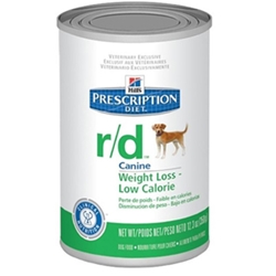 Hills Prescription Diet r/d Canine Weight Loss-Low Calorie Canned Food, 12 x 12.3 oz